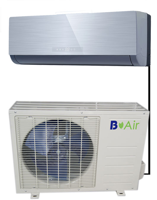B Air 18,000 Mini Split Model BAM-18HU1C