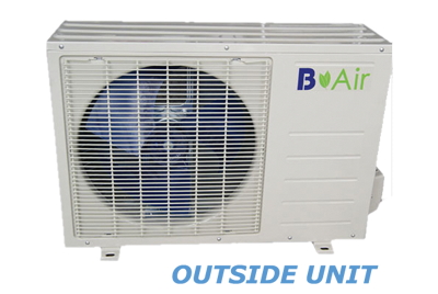 B Air 24,000 BTU Mini Split Condenser Products
