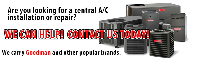 central ac repair bonsall, ca