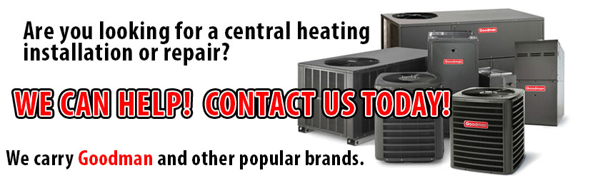 central-heating-furnace installation